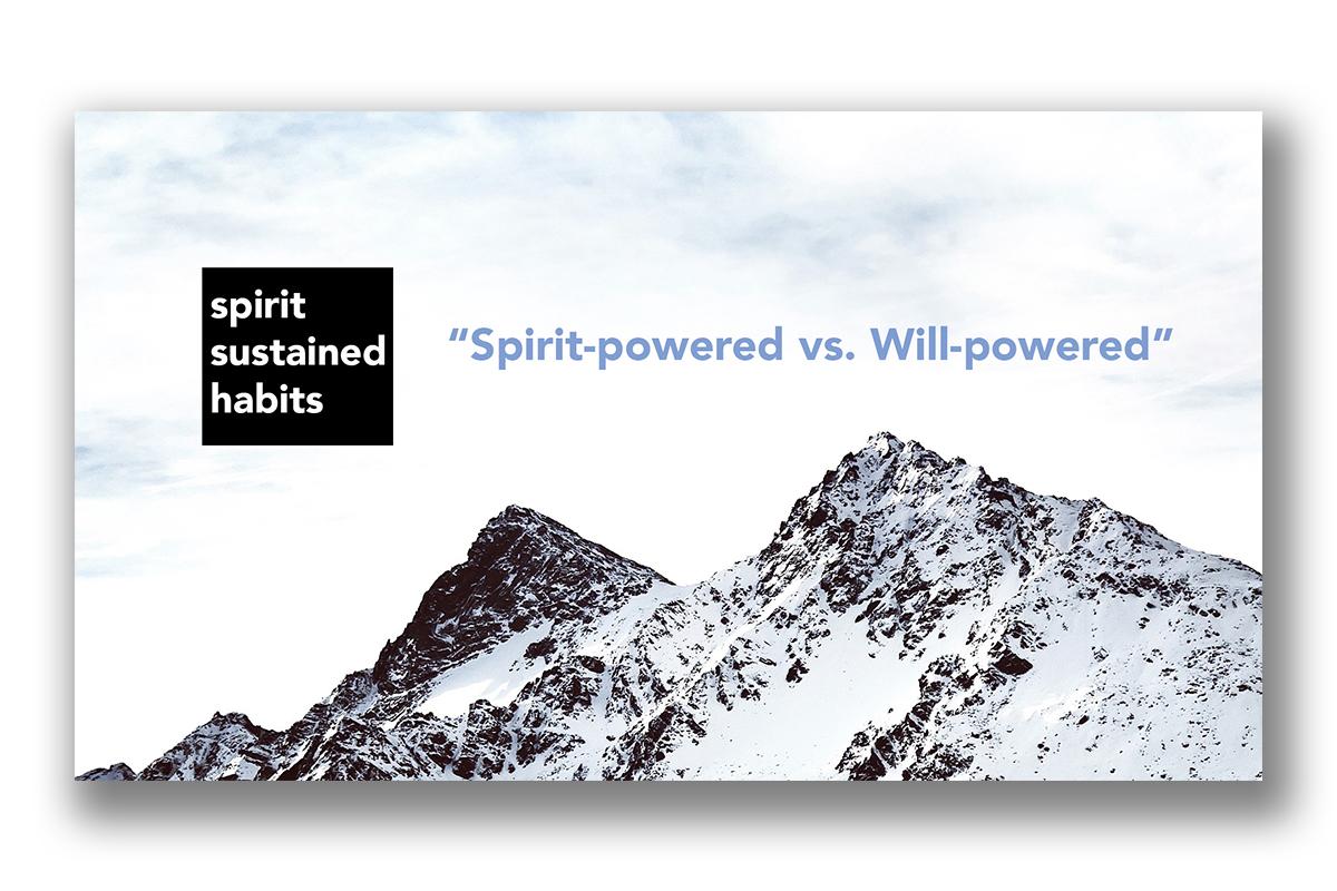 Spirit Sustained Habits Series